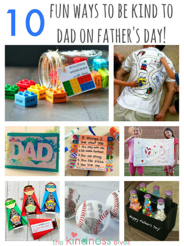 10 Fun Ways to be Kind to Dad on Father's Day