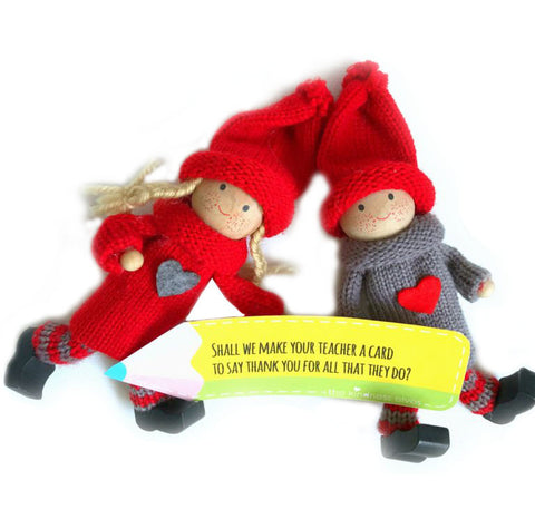Kindness Elves with Pencil