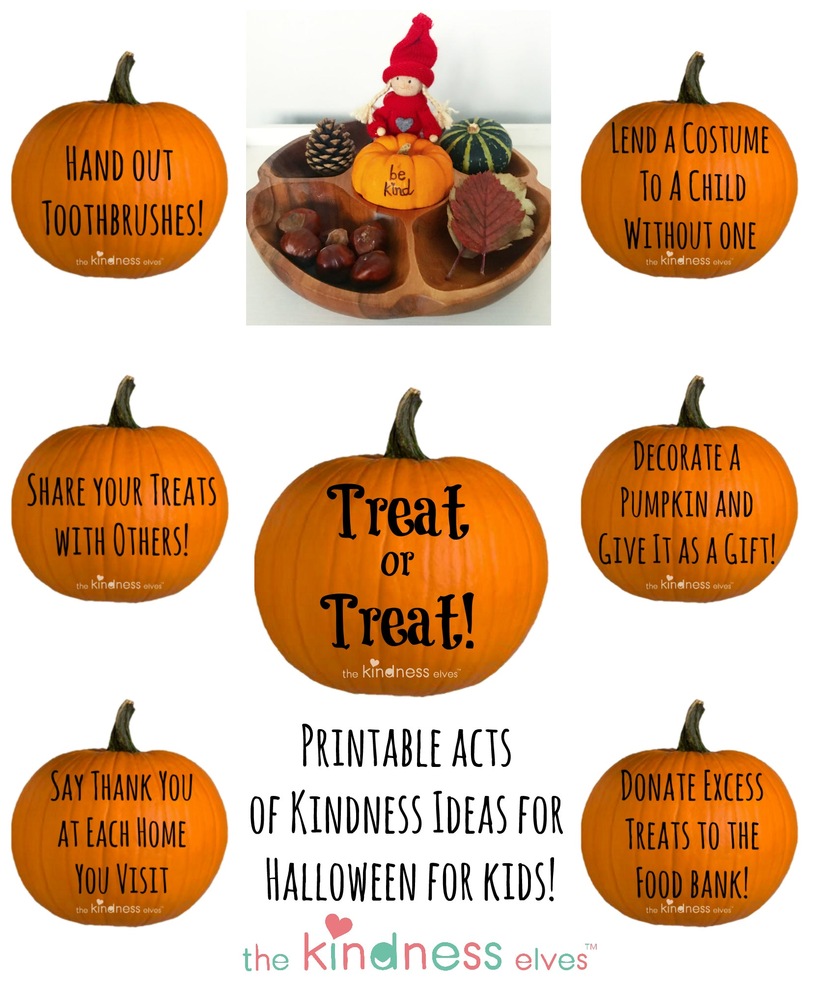 Treat or Treat Acts of Kindness