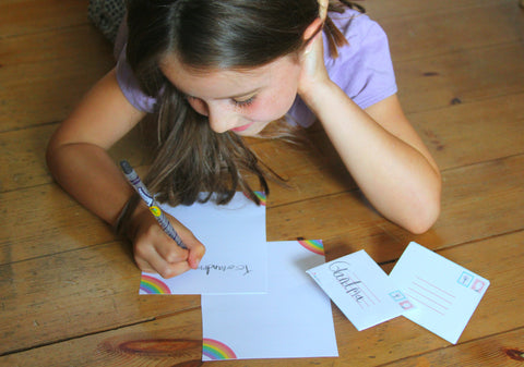 Writing a Letter to the Kindness Elves