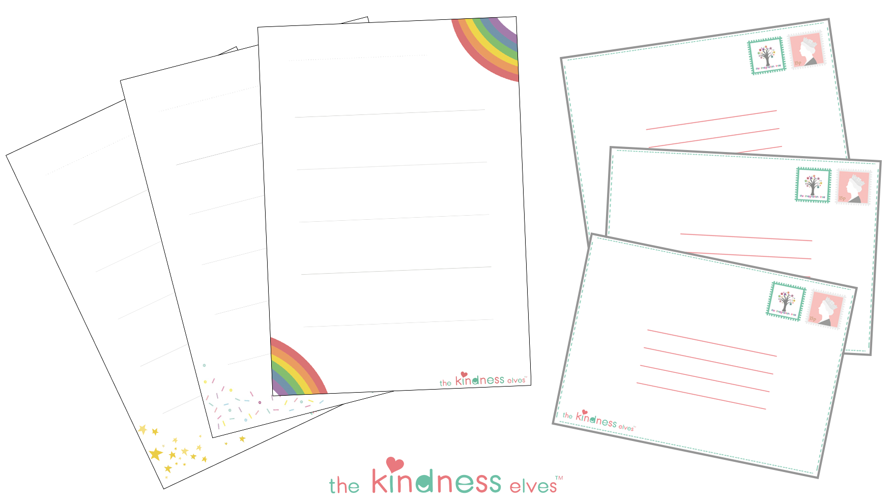 Kindness Elves Writing Set