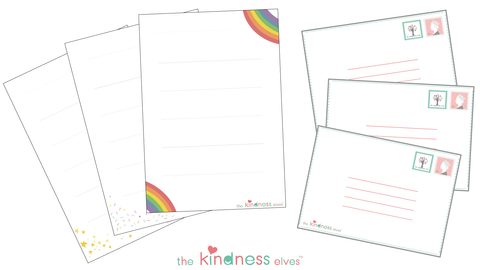 The Kindness Elves Writing Set