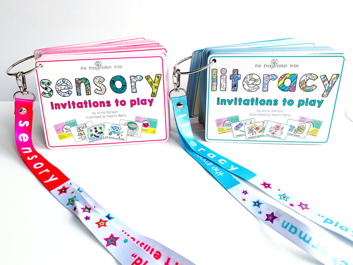 Invitations to Play Activity Cards