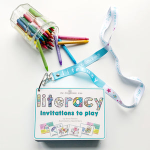 LITERACY Invitations to Play Activity Cards