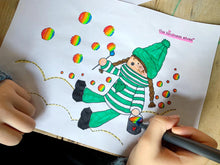 Load image into Gallery viewer, Kindness Elves Colouring eBook - The Imagination Tree Store
