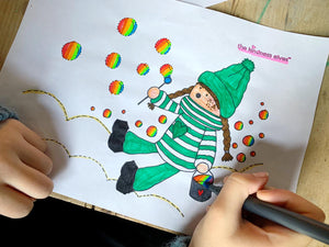Kindness Elves Colouring eBook - The Imagination Tree Store