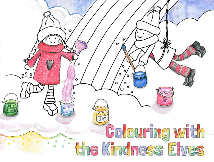 Kindness Elves Colouring eBook