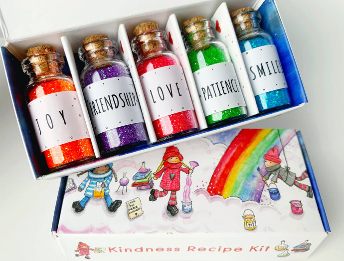 The Kindness Recipe Glitter Kit