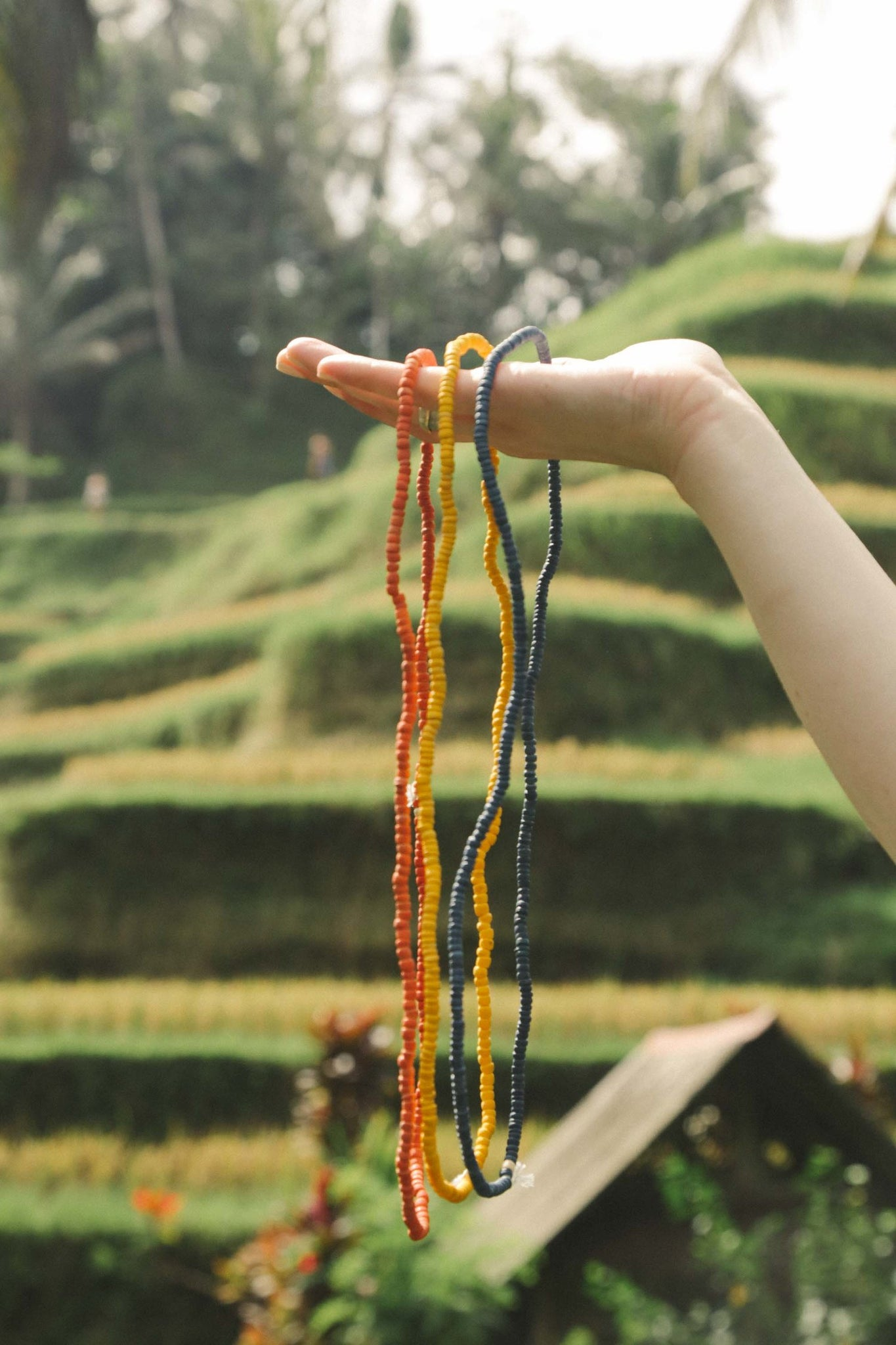 Native Color in Bali - All Natural Stacking Beads 03