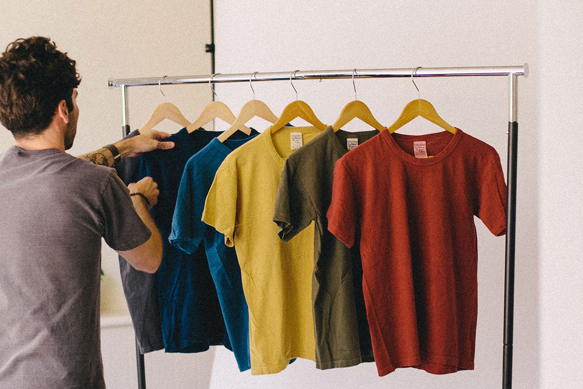 Native Color Naturally Dyed Organic Cotton T-Shirts