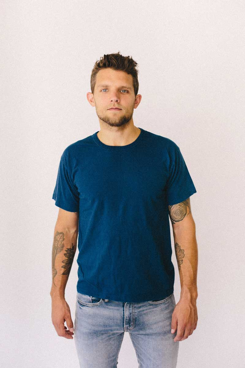 The All Natural T-Shirt™ - Dark Indigo