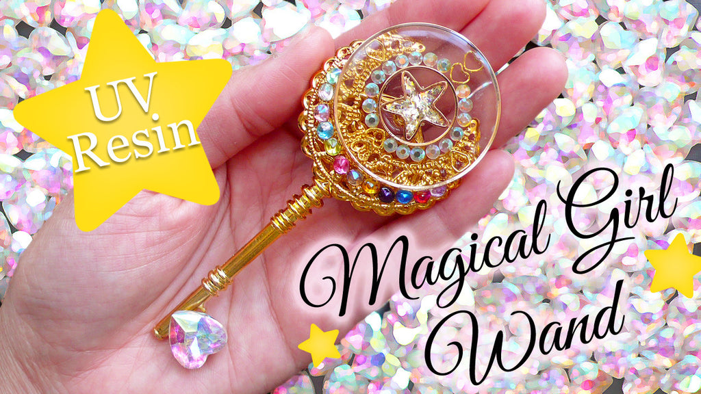 UV Resin Tutorial: Magical Girl Wand + GIVEAWAY!