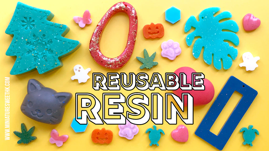 How to Use: Reusable resin / Moldable Plastic