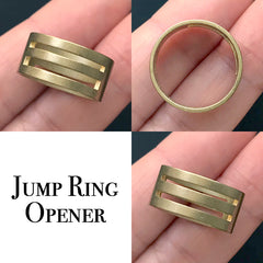 Jump Ring Opener | Jump Rings Opening and Closing | Craft Tool for Jewelry Maker (1 piece)