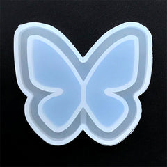 Butterfly Shaker Charm Silicone Mould for Resin Jewelry DIY | Insect Mold | Kawaii Resin Shaker Making (63mm x 56mm)