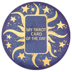 My Tarot Oracle Card of the Day Board for Resin Art | Tarot Spread Board DIY | Pagan Altar Decor | Witchcraft Supplies (21.5cm)