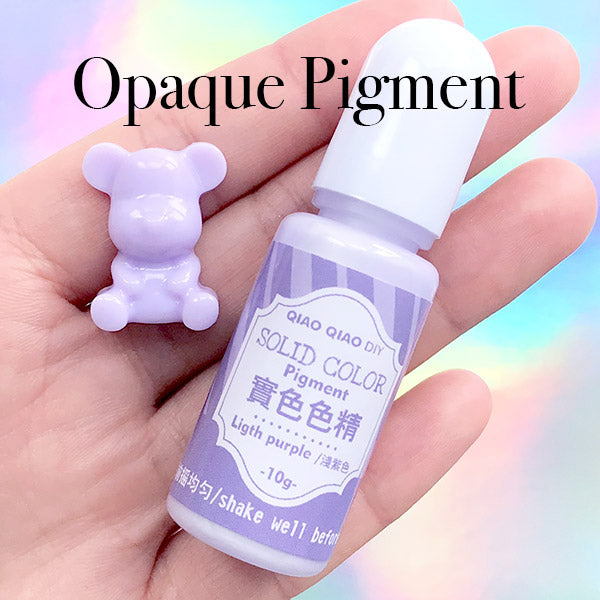 Opaque Pastel Colorant | Epoxy Resin Dye | UV Resin Paint | AB Resin  Pigment | Solid Resin Colour | Resin Crafts (Light Purple / 10 grams)