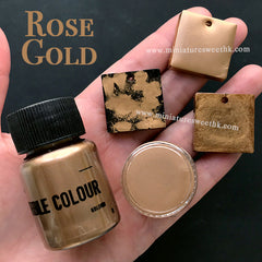Metallic Rose Gold Pigment Powder | Copper Pigment | Epoxy Resin Colour | UV Resin Craft Supplies