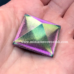 Colour Shifting Pigment Powder | Pearlescent Chameleon Glitter | Shimmer Resin Colorant (Magenta Green Gold / 0.5 gram)