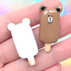 Bear Cartoon Slices Cabochon Polymer Clay Decoden Craft Jewelry Charms Resin Nail Art Slice Sprinkles Faux Miniature Set B14