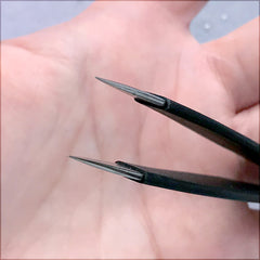 Sharp Straight Tweezers for Cloisonne Art | Wire Wrapping Tool | Wire Bending Tool