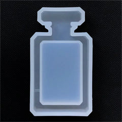 Perfume Bottle Shaker Charm Silicone Mold | Kawaii Resin Shaker Making | Resin Jewellery DIY | Decoden Supplies (35mm x 64mm)