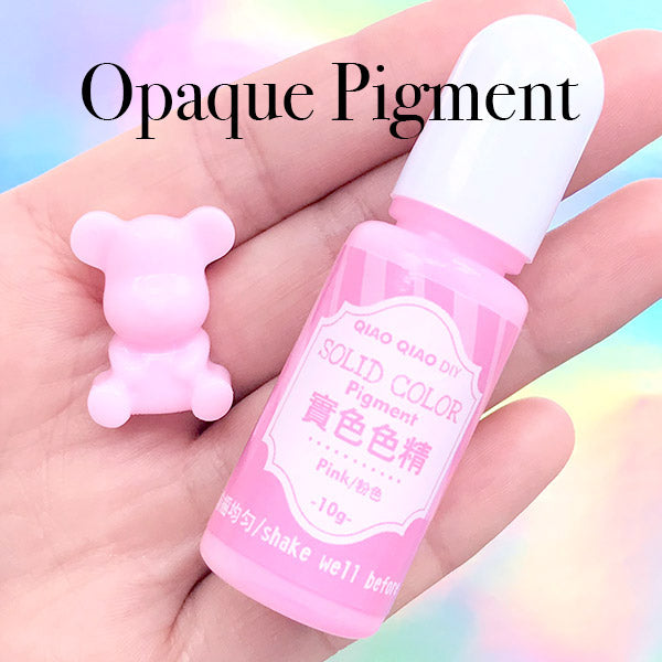 Pastel Pigment for AB Resin | Opaque Epoxy Resin Colorant | Solid Color  Paint for UV Resin | Resin Colouring | Resin Dye (Pink / 10 grams)