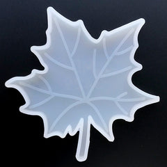 Maple Leaf Silicone Mold for Resin Art | Make Your Own Coaster | Epoxy Resin Mould | Resin Mold Supplies (113mm x 113mm)