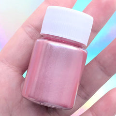 Pearl Pigment Powder | Pearlescence UV Resin Colorant | Shimmery Epoxy Resin Dye (Pink / 4-5 grams)