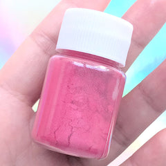 UV Resin Pearl Pigment Powder | Pearlescence Colorant for Epoxy Resin Colouring | Shimmery Dye (Dark Pink / 4-5 grams)