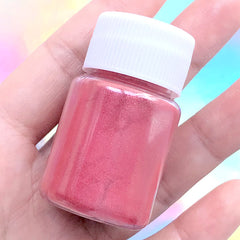 UV Resin Pigment | Pearl Powder for Epoxy Resin Coloring | Shimmer Pearlescence Colour Dye | Resin Colorant Supplies (Pink Red / 4-5 grams)