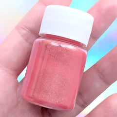Epoxy Resin Pigment | Pearlescence Powder for UV Resin Coloring | Shimmery Pearl Colour Dye | Resin Colorant Supplies (Orange Red / 4-5 grams)