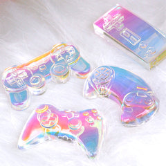 Game Controller Silicone Mold (4 Cavity) | TV Video Game Cabochon DIY | Kawaii Decoden Supplies | Resin Crafts