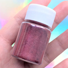 Epoxy Resin Colorant | Pearl Pigment Powder | Pearlescence Color Dye | UV Resin Colouring (Wine Red / 4-5 grams)