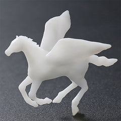 Pegasus Resin Inclusion | 3D Mythical Creature for Resin Art | Flying Horse Embellishment (1 piece / 25mm x 20mm)