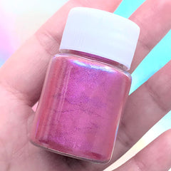 UV Resin Colorant | Pearlescence Pigment Powder | Pearl Color Dye | Epoxy Resin Colouring (Magenta / 4-5 grams)