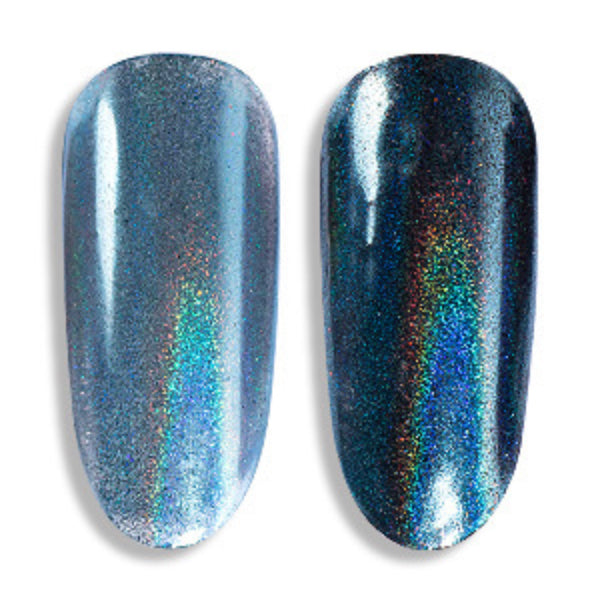 Holographic Pigment Powder (Blue) | Holo Rainbow Glitter Dust | Resin Colouring | Nail Art Supplies (0.2 gram)