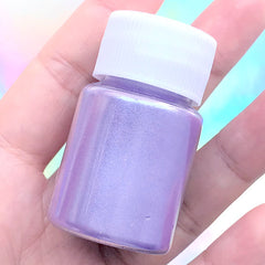 Shimmery Resin Colorant | Pearl Pigment Powder | Pearlescence UV Resin Coloring | Epoxy Resin Art Supplies (Light Purple / 4-5 grams)