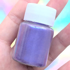 Pearl Resin Colorant | Pearlescence Pigment Powder | Shimmery Epoxy Resin Color | UV Resin Paint (Blue Purple / 4-5 grams)