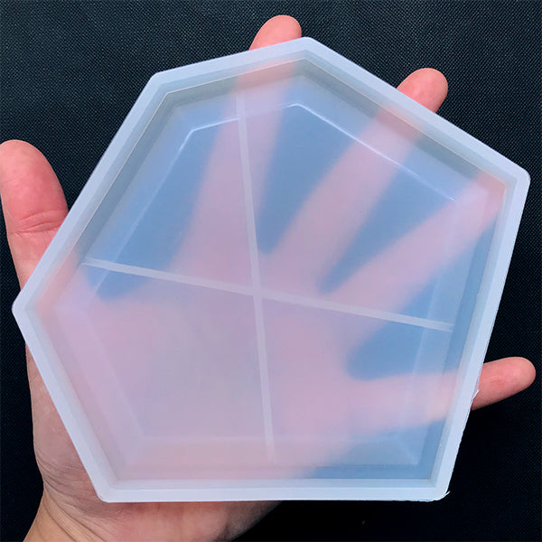 Irregular Trinket Dish Silicone Mold | Make Your Own Petri Tray | UV Resin Crafts | Epoxy Resin Mould | Home Decor (132mm x 118mm)