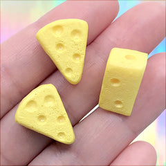 1:12 Scale 6 Slices Of White Stilton Cheese With Apricot  Dolls House  Food