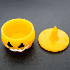 Pumpkin Trinket Box Silicone Mold | Halloween Home Decoration | Make Your Own Storage Box | Resin Art Supplies (79mm)