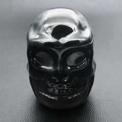 Skull Trinket Box Silicone Mold | Storage Box Mould | Halloween Craft Supplies | Gothic Home Decor (70mm)