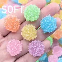 Sugar Candy Cabochon | Fake Gummy Candies | Faux Jelly Candy | Kawaii Sweet Decoden (10 pcs by Random / 18mm x 13mm)