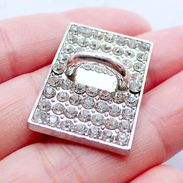 on sale 12dd9 76078 Phone Case Hook Cab | Phone Case Charm Connector | Sparkle Phone Case  Accessories | Charm Holder | Luxury Decoden Supplies | Bling Bling Phone ...