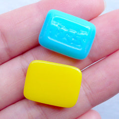 Hard Candy Cabochon | Faux Sweets Jewelry | Japanese Sweet Deco | Kawaii Hair Bow Center | Phone Case Decoden (5pcs / Assorted Mix / 13mm x 18mm / Flat Back)