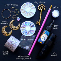 Magical Girl Wand Making Kit | Mahou Kei Magic Wand DIY Kit | Kawaii Craft Supplies