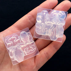 3D Goldfish Silicone Mold (2 Cavity) | Fish Mold | UV Resin Art Supplies | Clear Soft Mold | Animal Mould