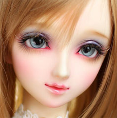 22mm Large Doll Eye Silicone Mold | BJD Doll Craft Supplies | Clear Soft Mold for Resin Art (22mm Diameter & 11mm Inner)