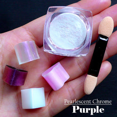 Pearl Effect Pigment (Purple) | Resin Colouring | Shimmer Pearlescent Pigment | Chrome Nail Powder (2 grams)